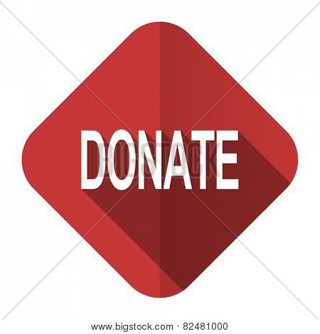 donate flat icon