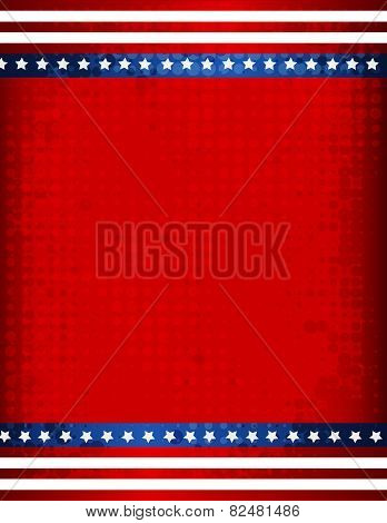 Usa Grunge Frame / Background