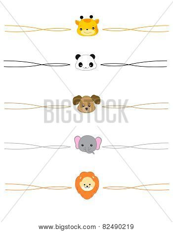 Cute Animal Dividers