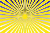 An illustration of a beautiful sunshine background poster