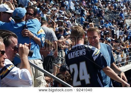 Chargers Victory