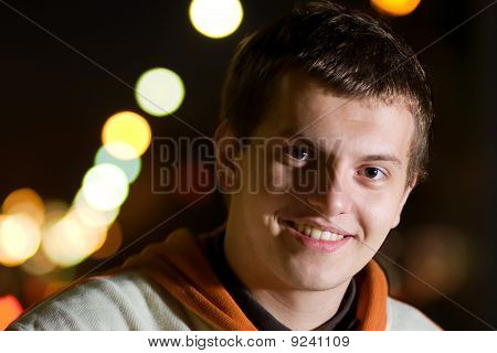 Smiling Young Rapper Guy
