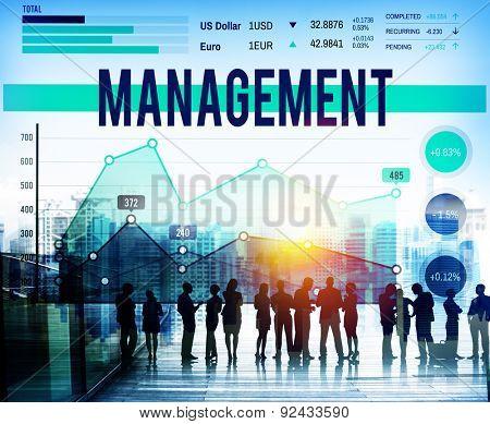 Management Organization Manager Managing Concept