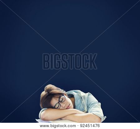 Sleeping Sleepy Rest Break Nap Slumber Concept