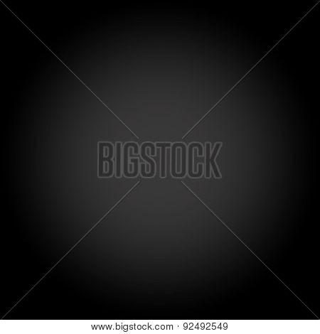Abstract Dark Black gradient monitized Studio background