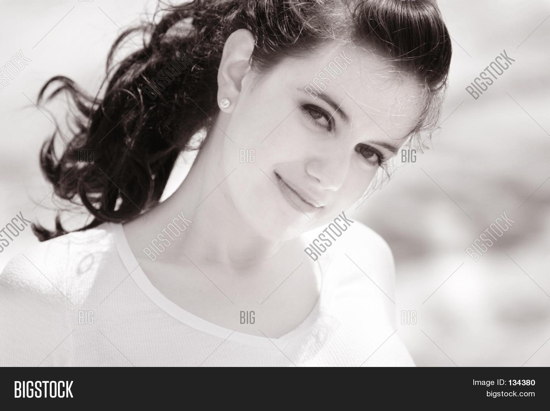 beautiful sweet girl image & photo (free trial) | bigstock