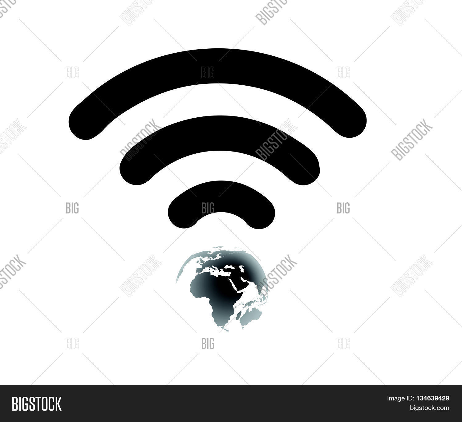 Wifi Icon Flatobal Vector Photo Free Trial Bigstock
