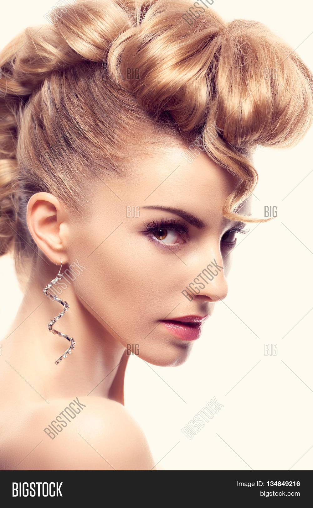 Fashion Mohawk Image Photo Free Trial Bigstock