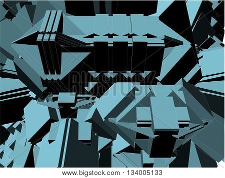 Urban City Vector 333.eps