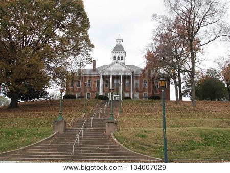 Stately Historic Courthouse in Cape Girardeau Missouri