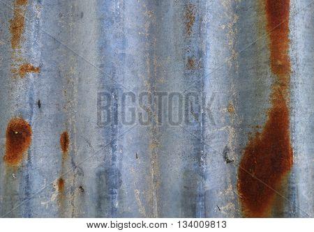 Old Zinc. Old Rusty Zinc. Old Rusty Zinc Plat Wall. Zinc Wall. Rusty Zinc Grunge Texture