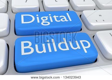 Digital Buildup Concept