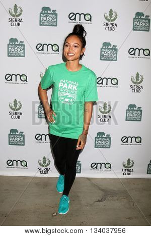 LOS ANGELES - JUN 11:  Karrueche Tran at the Give Back Day to Celebrate National Park Service Centennial at the Franklin Canyon Park on June 11, 2016 in Beverly Hills, CA