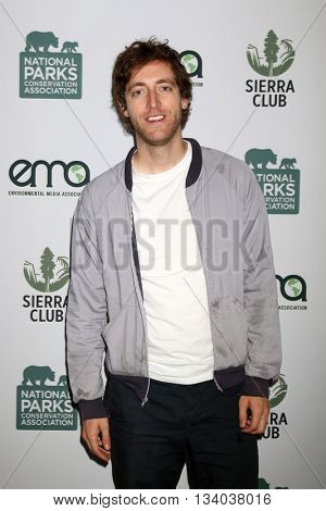 LOS ANGELES - JUN 11:  Thomas Middleditch at the Give Back Day to Celebrate National Park Service Centennial at the Franklin Canyon Park on June 11, 2016 in Beverly Hills, CA