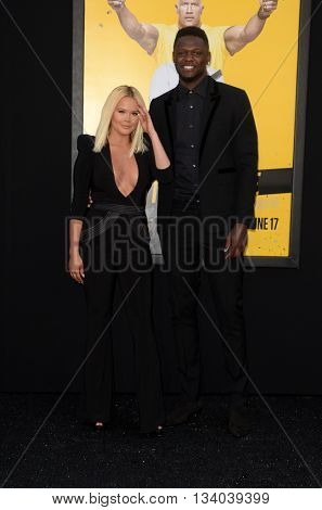 LOS ANGELES - JUN 10:  Guest, Julius Randle at the Central Intelligence Los Angeles Premiere at the Village Theater on June 10, 2016 in Westwood, CA