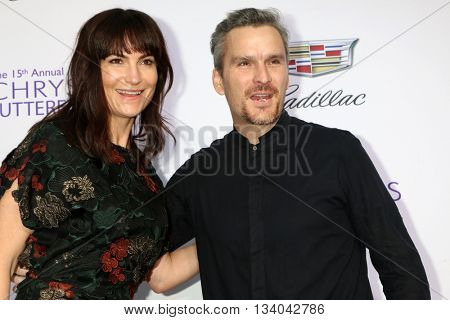 LOS ANGELES - JUN 11:  Rosetta Getty, Balthazar Getty at the 15th Annual Chrysalis Butterfly Ball at the Private Residence on June 11, 2016 in Brentwood, CA