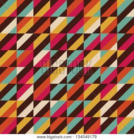 retro color stripe seamless pattern vintage background