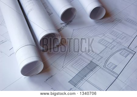 Blueprints Of A House