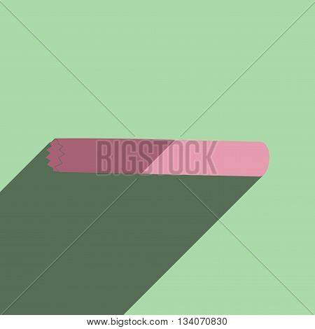 Flat icons with shadow of jumper. Vector illustration