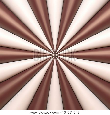 Abstract chocolate and cream background. Vector illustration Eps 10
