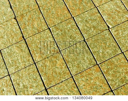 Abstract Color Stone Pavement Texture.