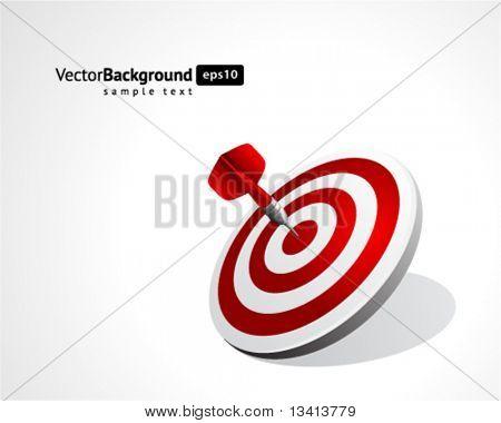 Dart vector background. Eps 10