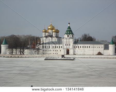 Ipatiev monastery, Kostroma oblast, Russia. The residence of the first Russian tsars of the Romanovs.