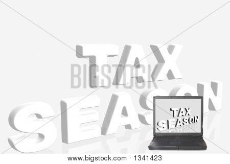 Laptop, Tax Season
