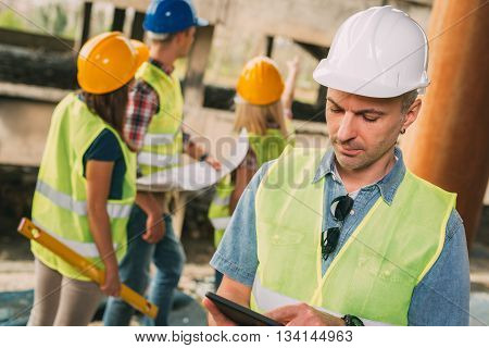 Head Of The Construction Sites