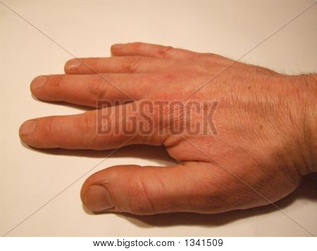 Mans Hand