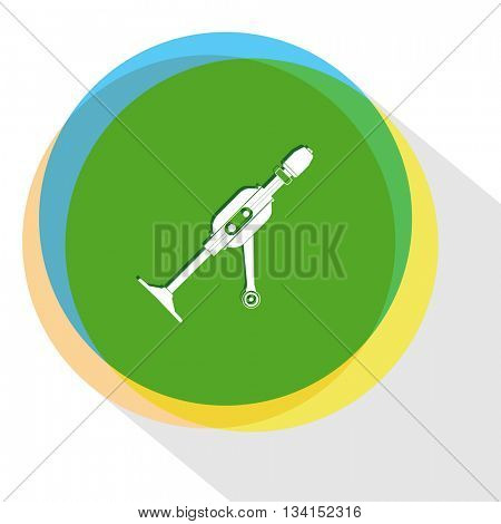 hand drill. Internet template. Vector icon.