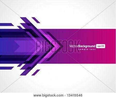 Arrows vector background. Eps 10