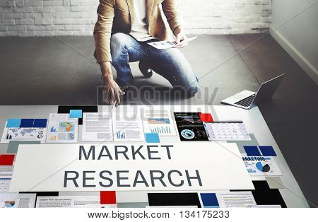 Market Research Consumer Information Needs Concept