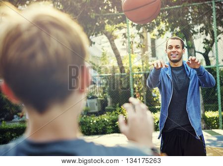 Basketball Player Athlete Exercise Sport Concept