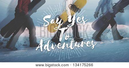 Adventure Enjoyment Exploration Holiday Leisure Concept