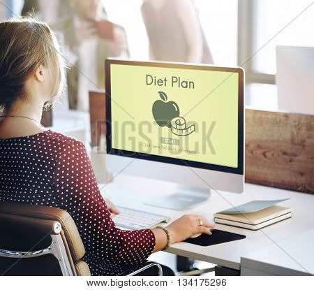 DIet Plan Healthy Nutrition Eating Food Choice Concept
