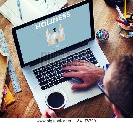 Holiness Holy Religion Spirituality Wisdom Church Concept