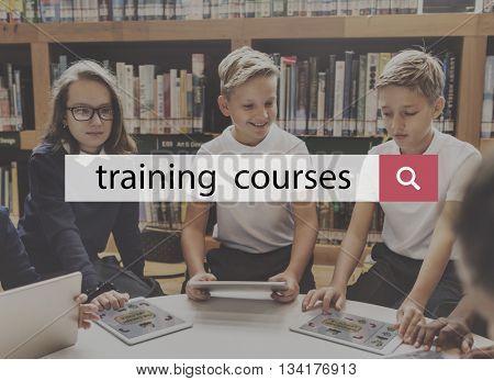 Intelligence Training Courses Education Ability Skills Concept
