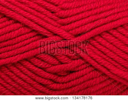 red ball of wool