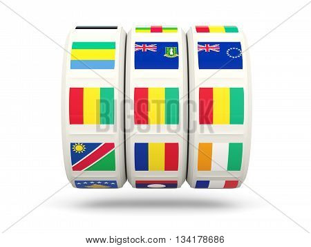 Slots With Flag Of Guinea