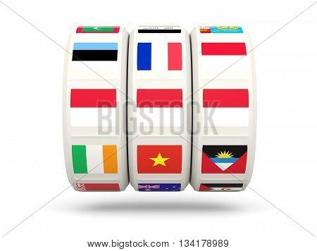 Slots With Flag Of Monaco