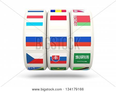 Slots With Flag Of Russia