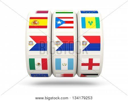 Slots With Flag Of Sint Maarten