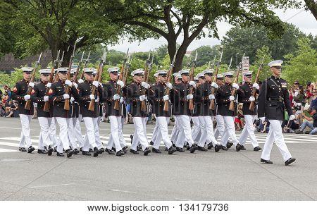 Memorial Day Parade - Washington D.c.