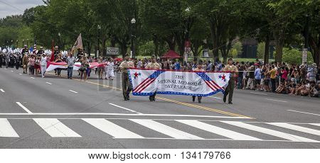 Memorial Day Parade - Washington D.c.