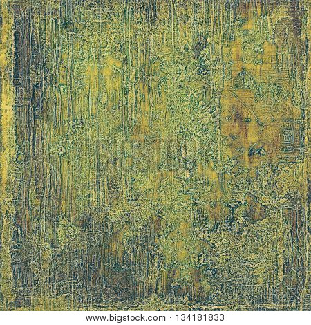 Abstract vintage colored background. With different color patterns: yellow (beige); brown; green; gray