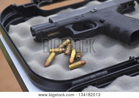 full metal jacketed bullets for a 9 mm