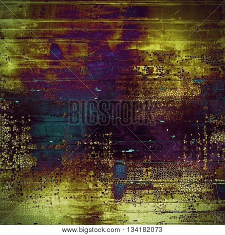 Scratched grunge background or spotted vintage texture. With different color patterns: yellow (beige); brown; blue; gray; purple (violet); pink