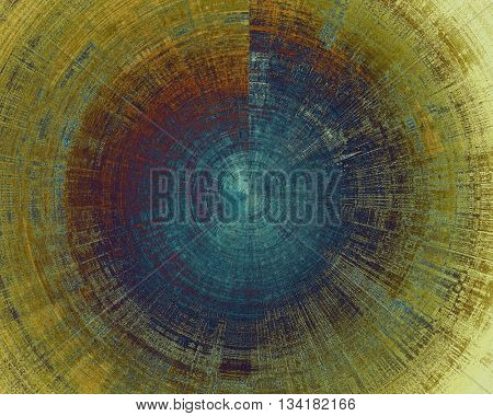 Spherical grunge texture, detailed macro closeup, vintage composition. With different color patterns: yellow (beige); brown; blue; purple (violet)