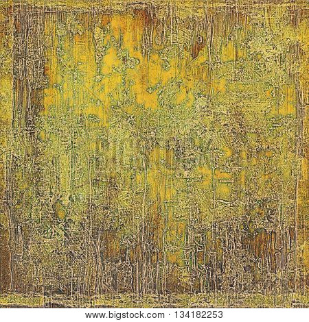 Hi res grunge texture or retro background. With different color patterns: yellow (beige); brown; green; gray; red (orange)
